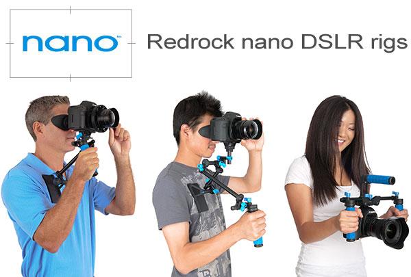 New Redrock Micro HDSLR Rigs