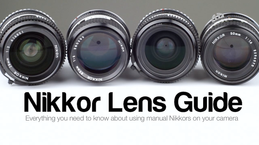 Nikkor Lenses: Nikon to Canon Adapter for DSLR Video