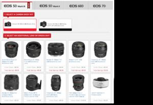 Canon DSLR, Lens Rebate