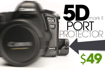 SmallHD 5D Mark II Port Protectors