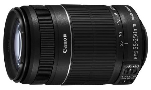 Price Drops $100 on Canon 55-250mm For 48 Hours