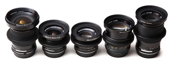 Zeiss Contax Lenses