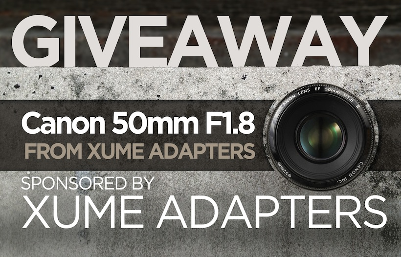 Ended: Win a Canon 50mm from Xume Adapters