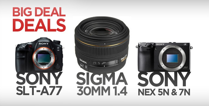 Save Hundreds on Lenses and Cameras