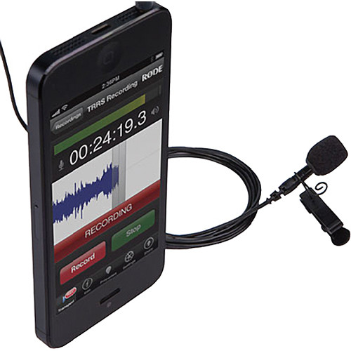 Lav mic for iPhone