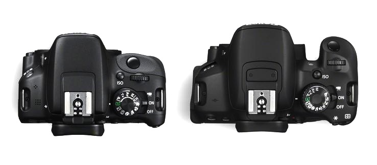 New Canon T5i and SL1