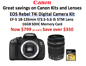 Save Tons with B&H Camera Kits