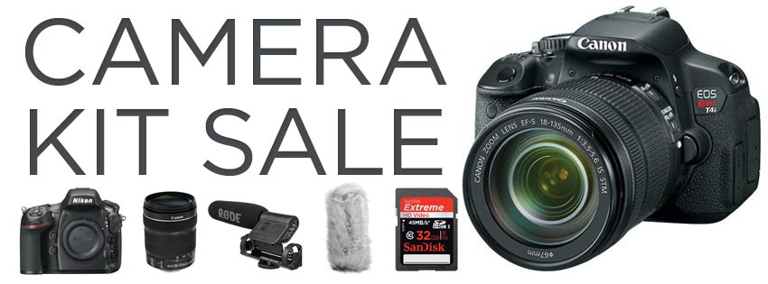 Save Tons with B&H Camera Kits - DSLR Video Shooter