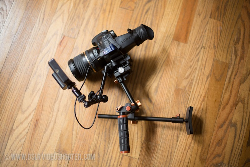 Wednesday Rigging: 3 Configurations with 1 DSLR Shoulder Rig