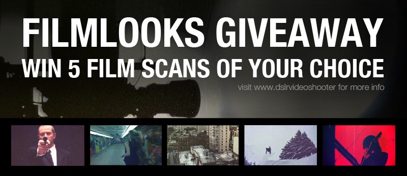 Ended – Giveaway: Win Film Scans from FILMLOOKS