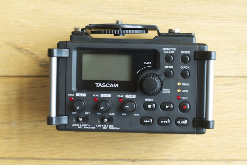 Tascam DR-60D Audio Recorder Review