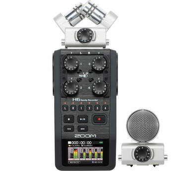 Details On The Amazing New Zoom H6 Recorder