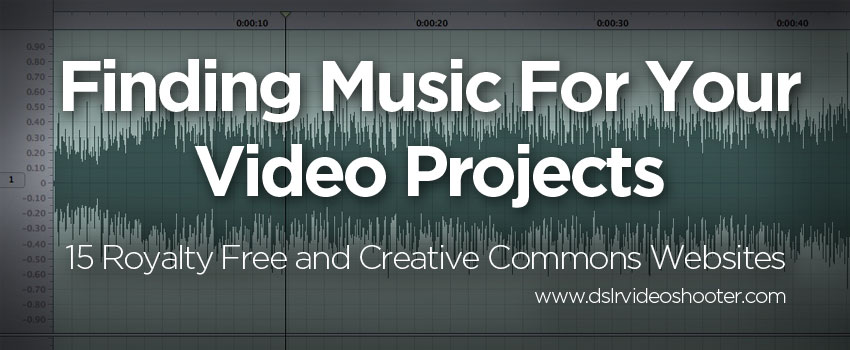 Guide To Finding Music For Your Videos: 15 Great Music Websites