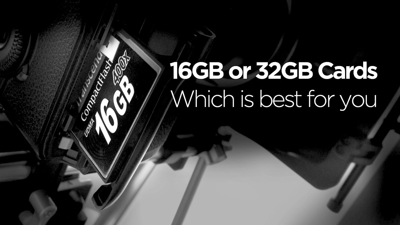 Viewer Question: Using 16, 32, Or 64GB Cards For DSLR Video