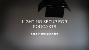 Video thumbnail for vimeo video How To Setup A Studio In Your Home - DSLR Video Shooter
