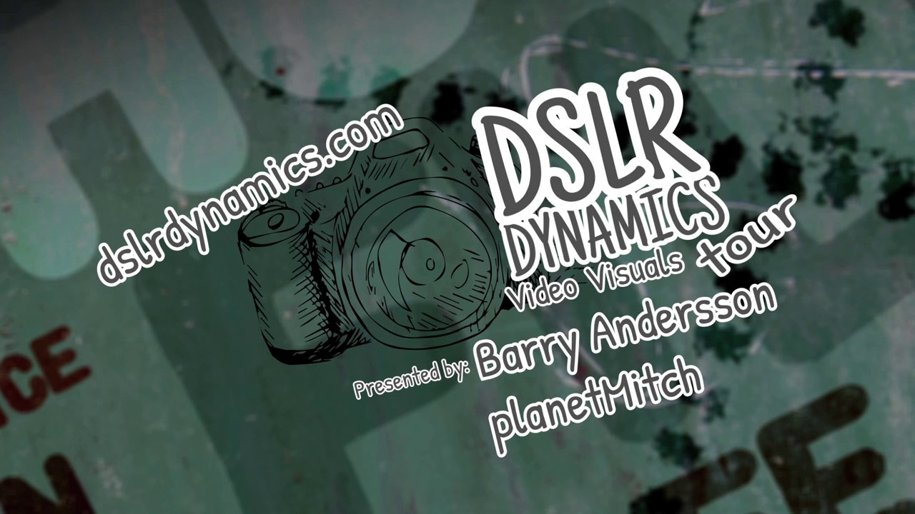 Ended – Win One Of 30 Free Admissions To DSLR Dynamics Video Visuals Tour