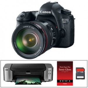 Massive Savings on Canon 5D Mark III, 6D, 70D and More
