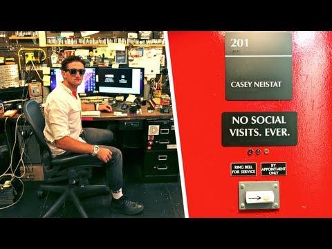 Casey Neistat's Insanely Wild Studio