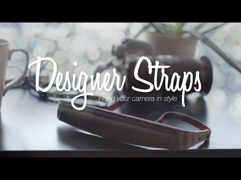 Upgrading Your Camera Strap – Designer Straps Review