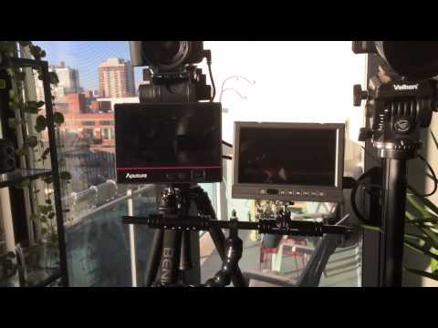 Video Podcast Setup: Dual Camera Monitor Rig