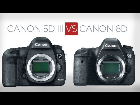 Video thumbnail for youtube video 5D VS 6D: The 9 biggest differences between the 5D Mark III and the 6D - DSLR Video Shooter