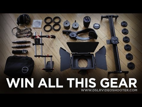 Ended – DSLR Film Gear Giveaway!
