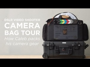 Video thumbnail for youtube video DSLR Video Camera Bag Setup