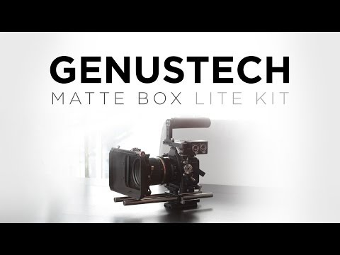 Video thumbnail for youtube video Genustech Matte Box Lite Kit Review