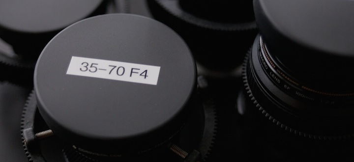 Turn Your Photo Lenses Into a Cinema Lens Set