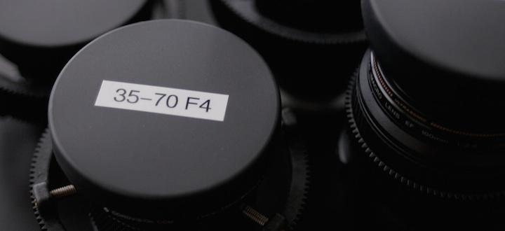 Turn Your Photo Lenses Into a Cinema Lens Set