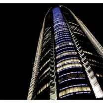 Roppongi Hills Mori Tower at Night in Tokyo - Japan