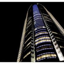 Roppongi Hills Mori Tower at Night in Tokyo - Japan