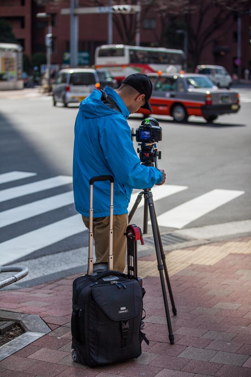 Think Tank Photo Gear in Japan - AmnesiArt