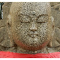 Zen Buddha Statue in Nara - Japan