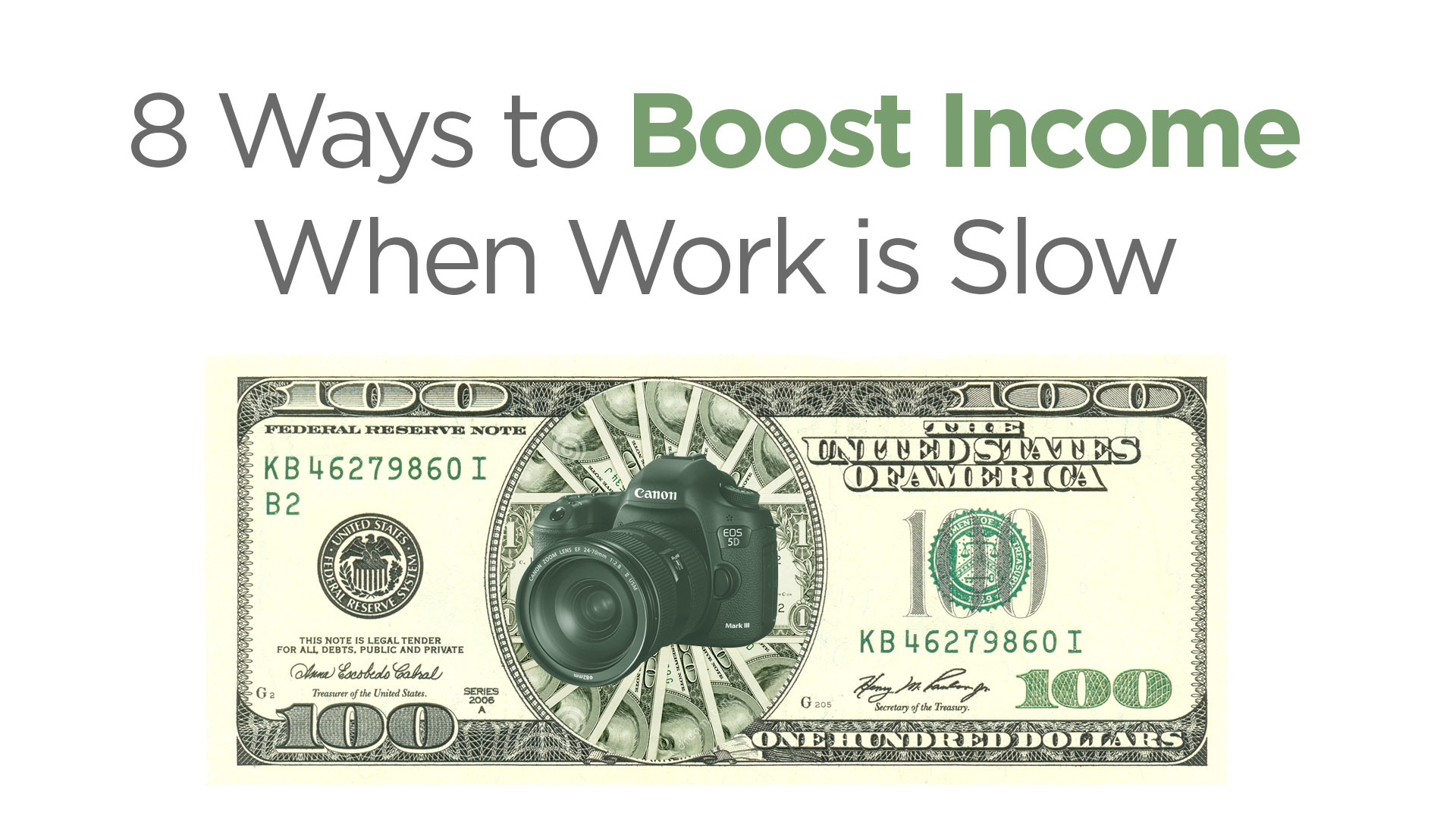 8 Ways to Boost Income When Work is Slow