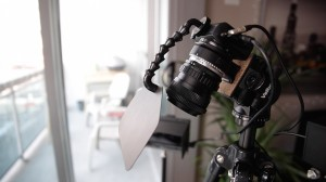 Quick Canon EOS-M Behind the Scenes Podcast Setup