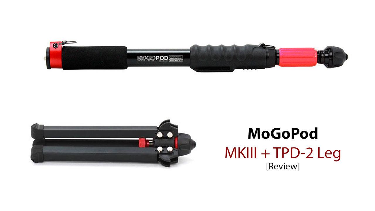 MoGoPod MKIII + TPD-2 Tripod Leg Review