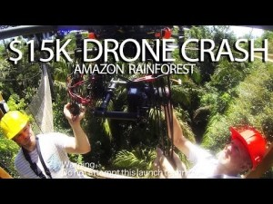 Video thumbnail for youtube video $15,000 Camera Drone Disappears in the Amazon Rain Forest - DSLR Video Shooter