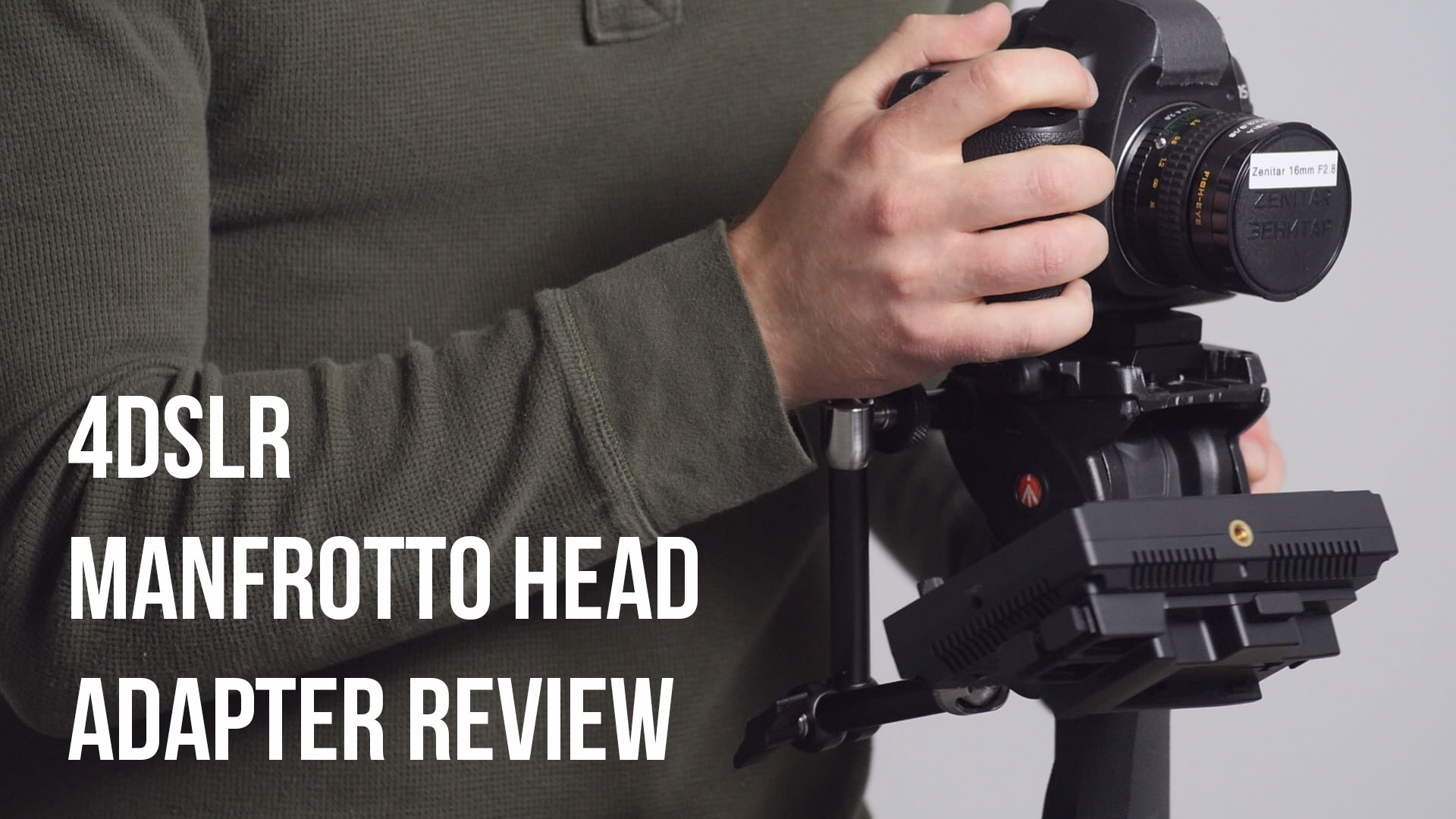 Get the Most Out of Your Tripod with the 4DSLR Tripod Stud