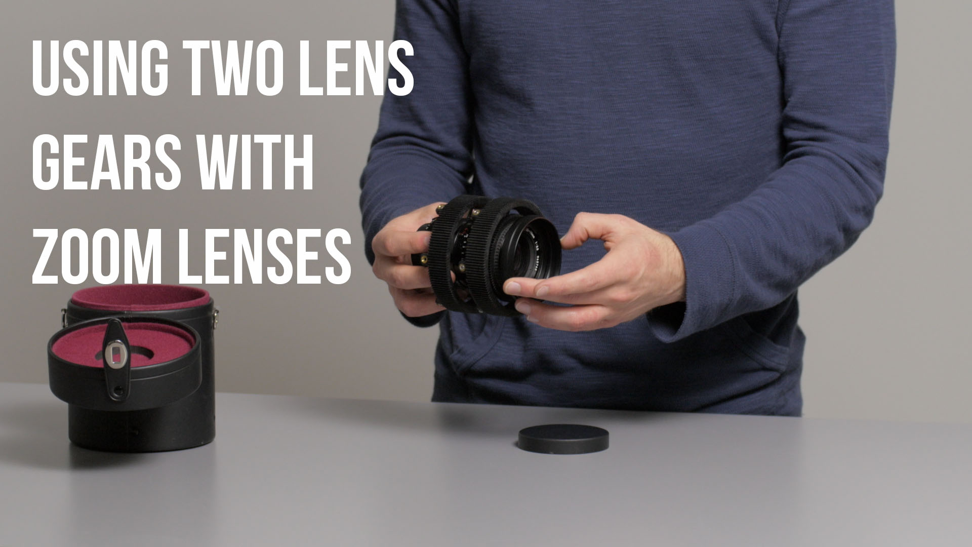 Using Two Lens Gears on a Zoom Lens