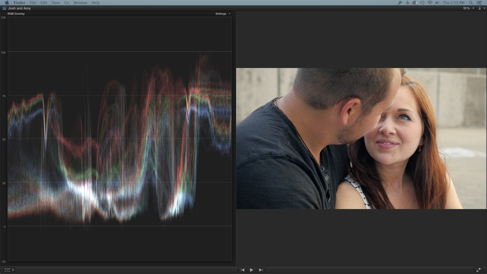 Color Correcting and Grading GH4 Video