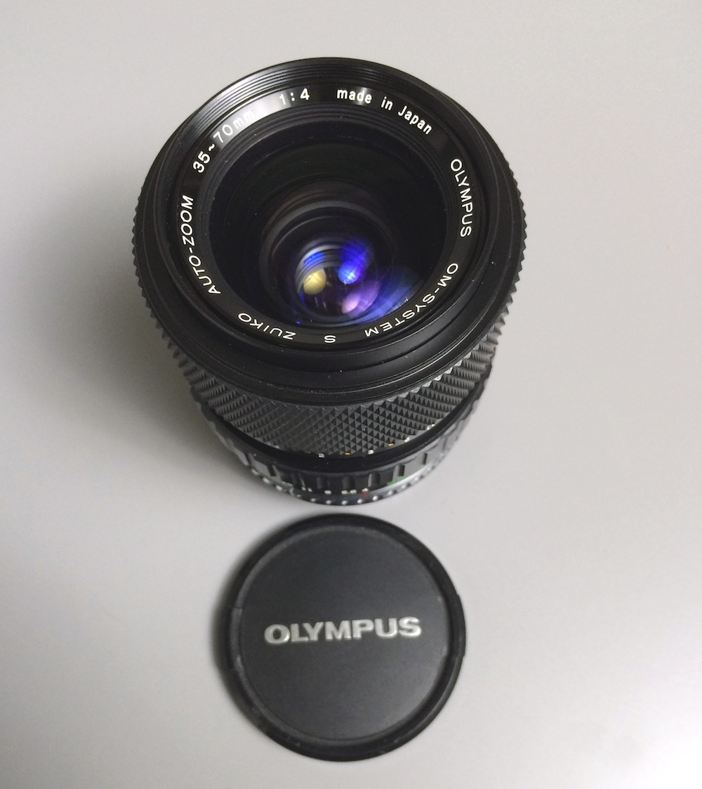 Ended – Giveaway: De-Clicked Olympus 35-70mm