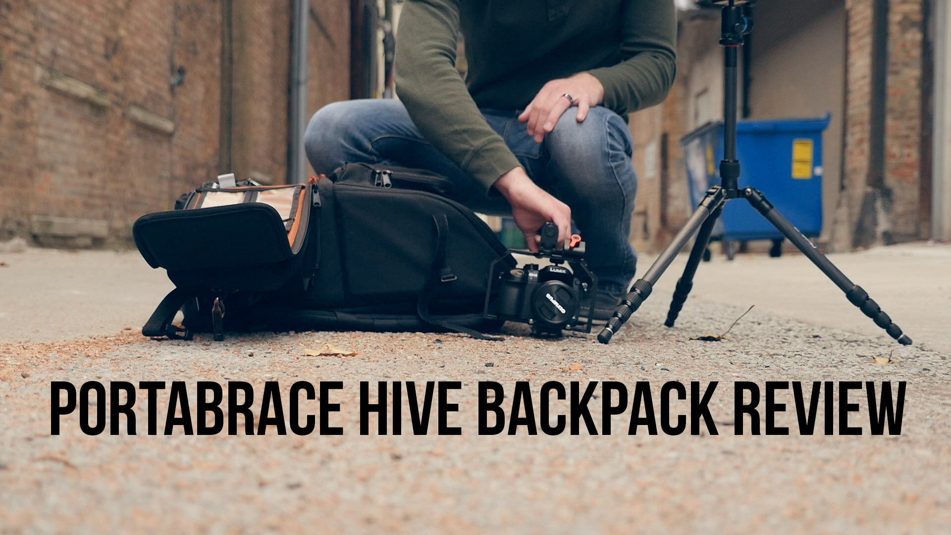 The Perfect Production Backpack: A Review of the Portabrace Camera Hive