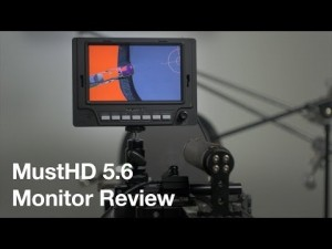 Video thumbnail for youtube video MustHD 5 Inch Video Monitor Review