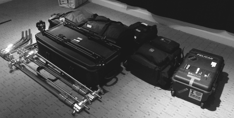 Production Gear Packing for a Two Day Shoot
