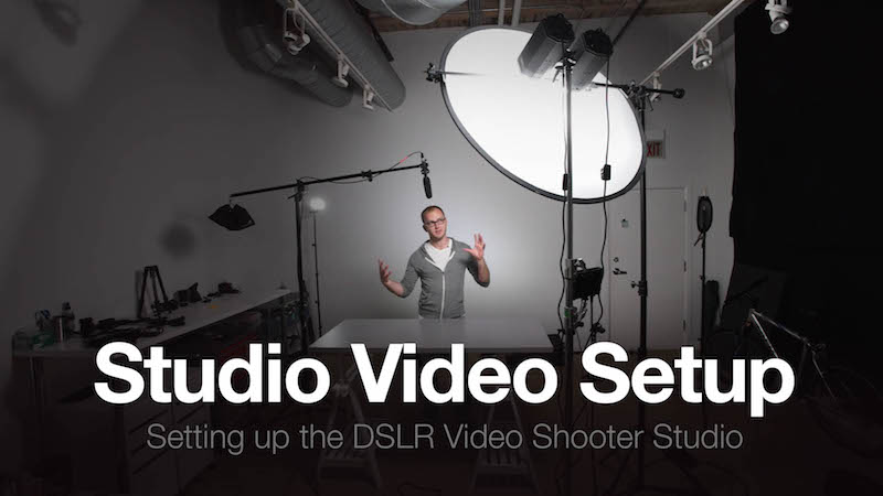 The Studio Part 3: How to Setup a Video Studio