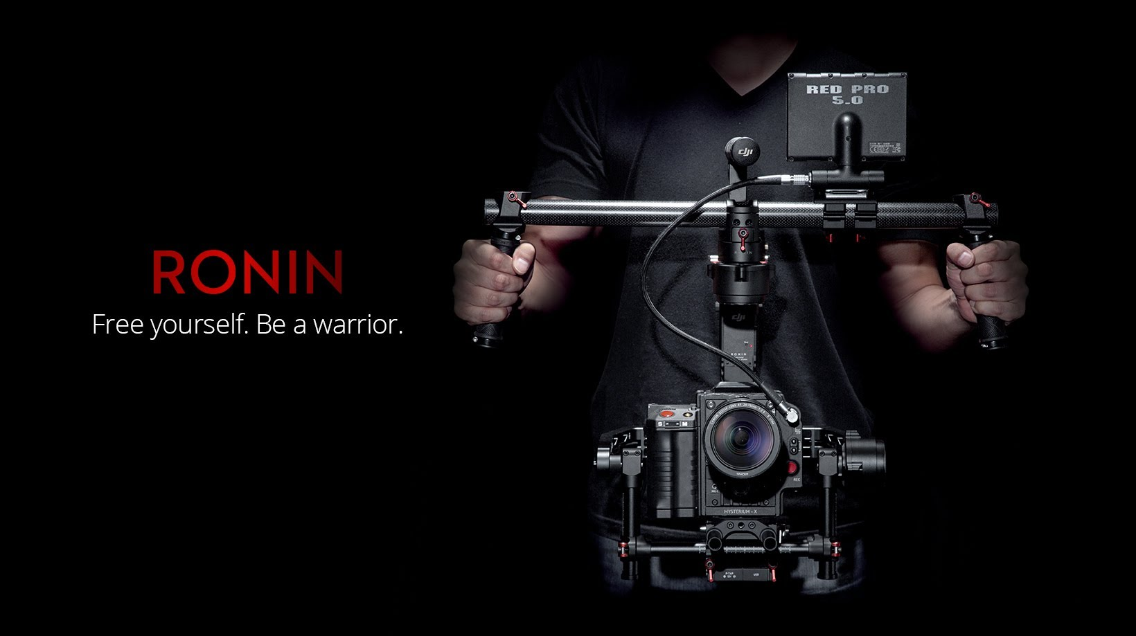 The New DJI Ronin 3-Axis Gimbal Stabilizer
