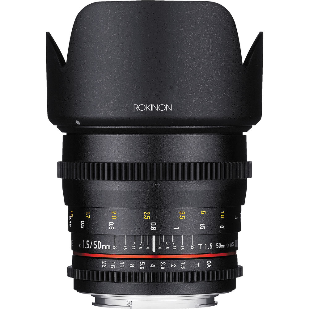 The Rokinon 50mm T1.5 Cine Lens is Finally Here