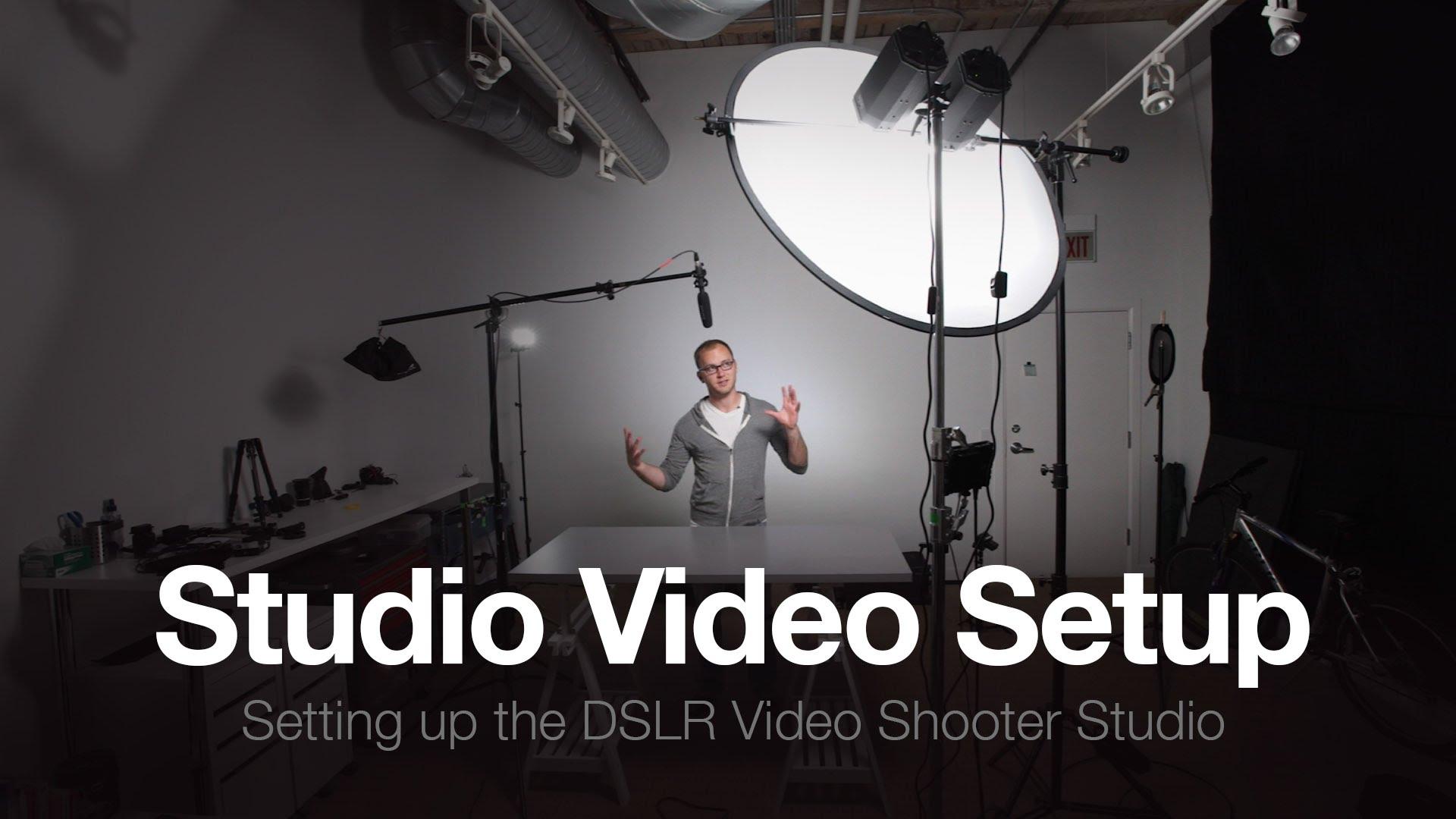 The Studio Part 3 How To Setup A Video Studio