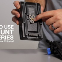Video thumbnail for youtube video Switronix Powerbase 70 V-Mount Battery Review - DSLR Video Shooter